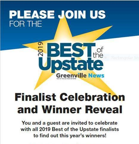 Best of the Upstate 2019 Finalist
